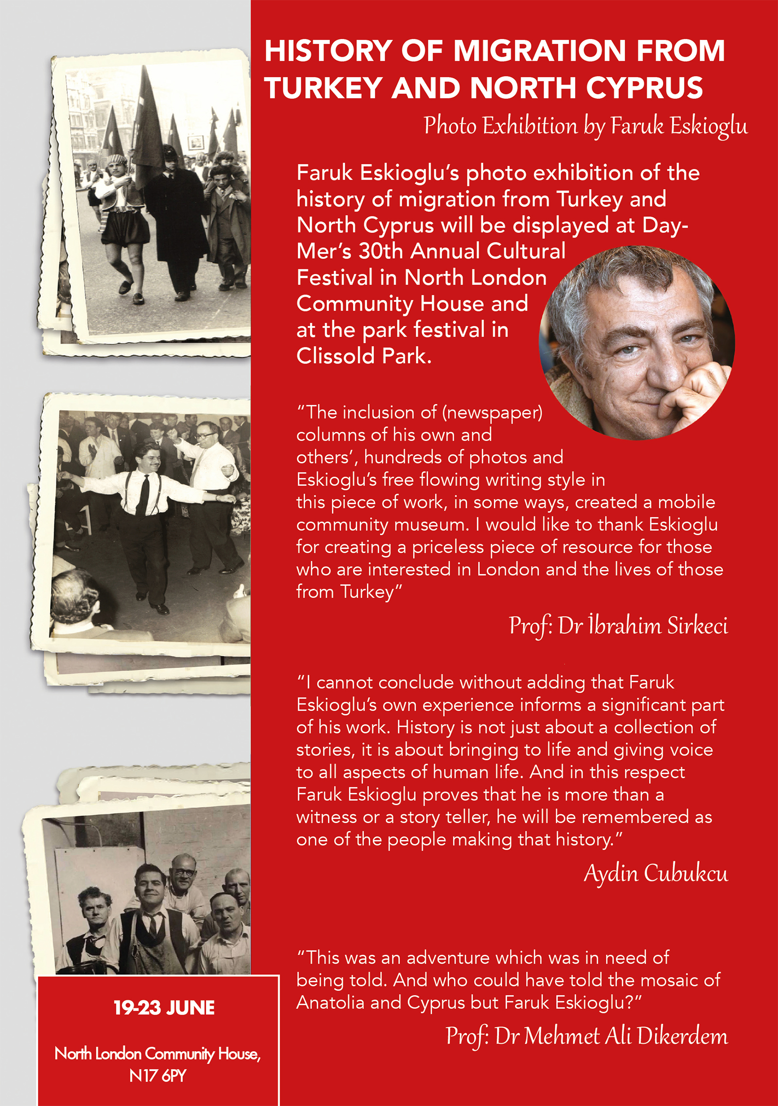 DayMer | Turkish and Kurdish Community Centre » 2019 History of